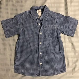 NWT Boys Oshkosh B'gosh Plaid Shirt, Size 8